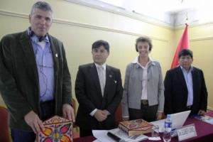 Francia y Perú realizarán investigaciones de diversas enfermedades