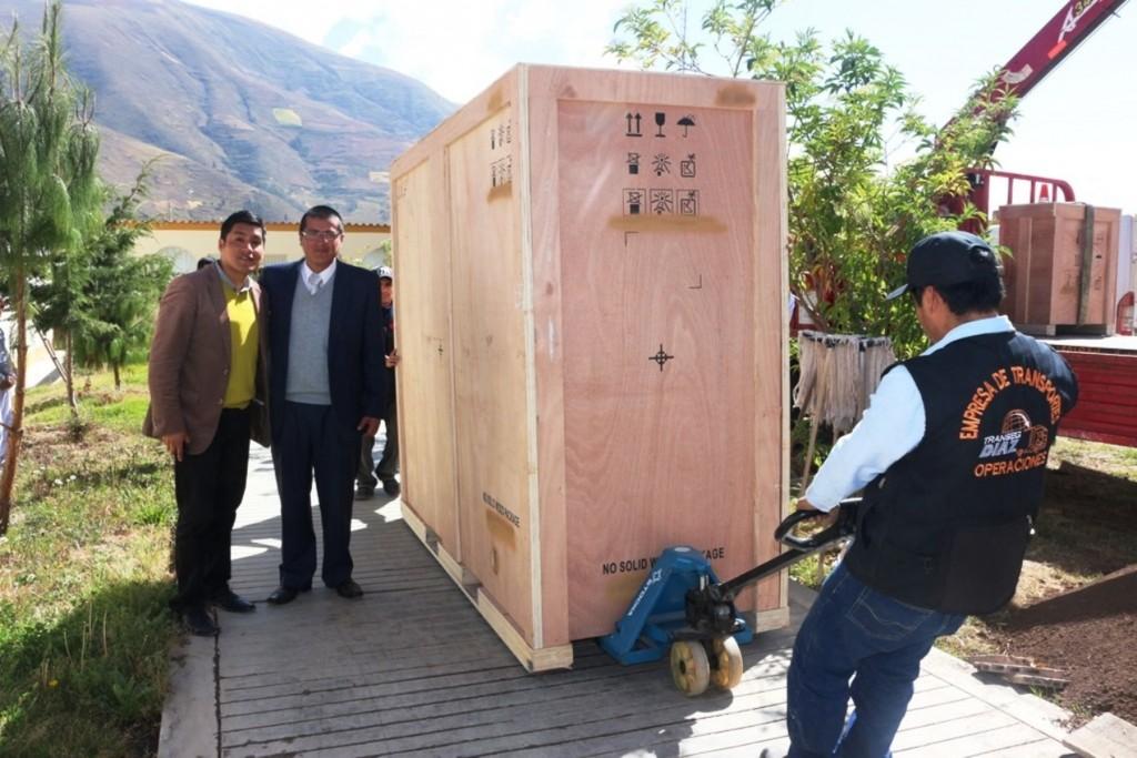 Equipos médicos por más de S/. 5 millones llegaron a Hospital de Pampas