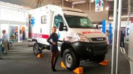 El vehículo de Motored es ideal para geografía de nuestro país y promete revolucionar el sistema de transporte en emergencias