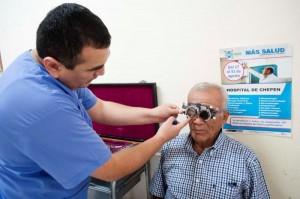 Durante 15 días los pobladores de Piura, La Libertad, Pasco y Puno recibieron tratamiento en diversas especialidades